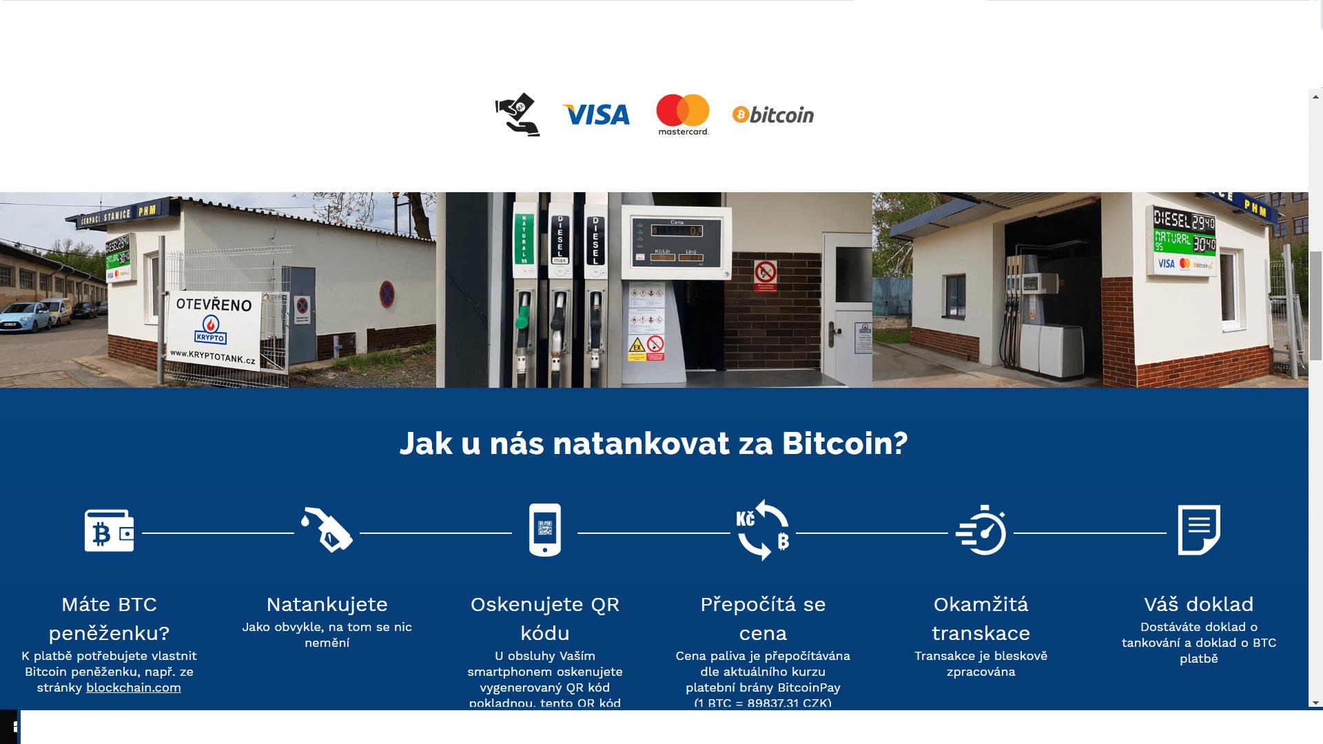 cerpaci stanice krypto platba bitcoinem