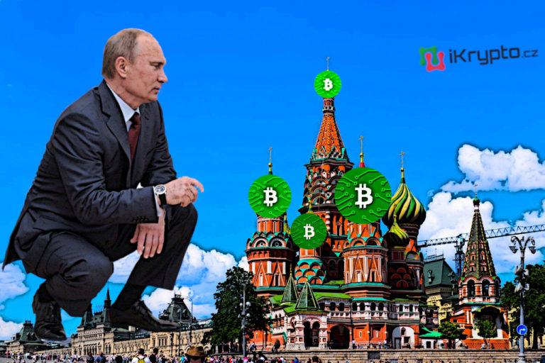 Rusko chystá krypto regulace. Putin dal termín do 1. Července