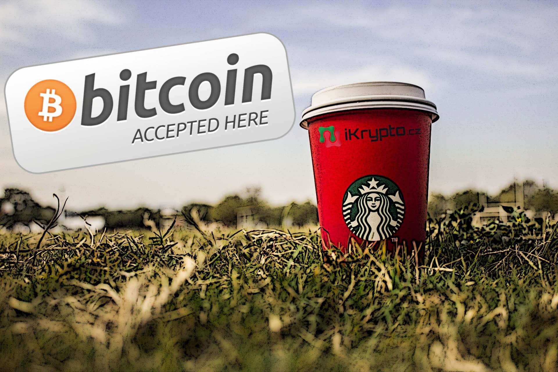 starbucks prijimani bitcoinu