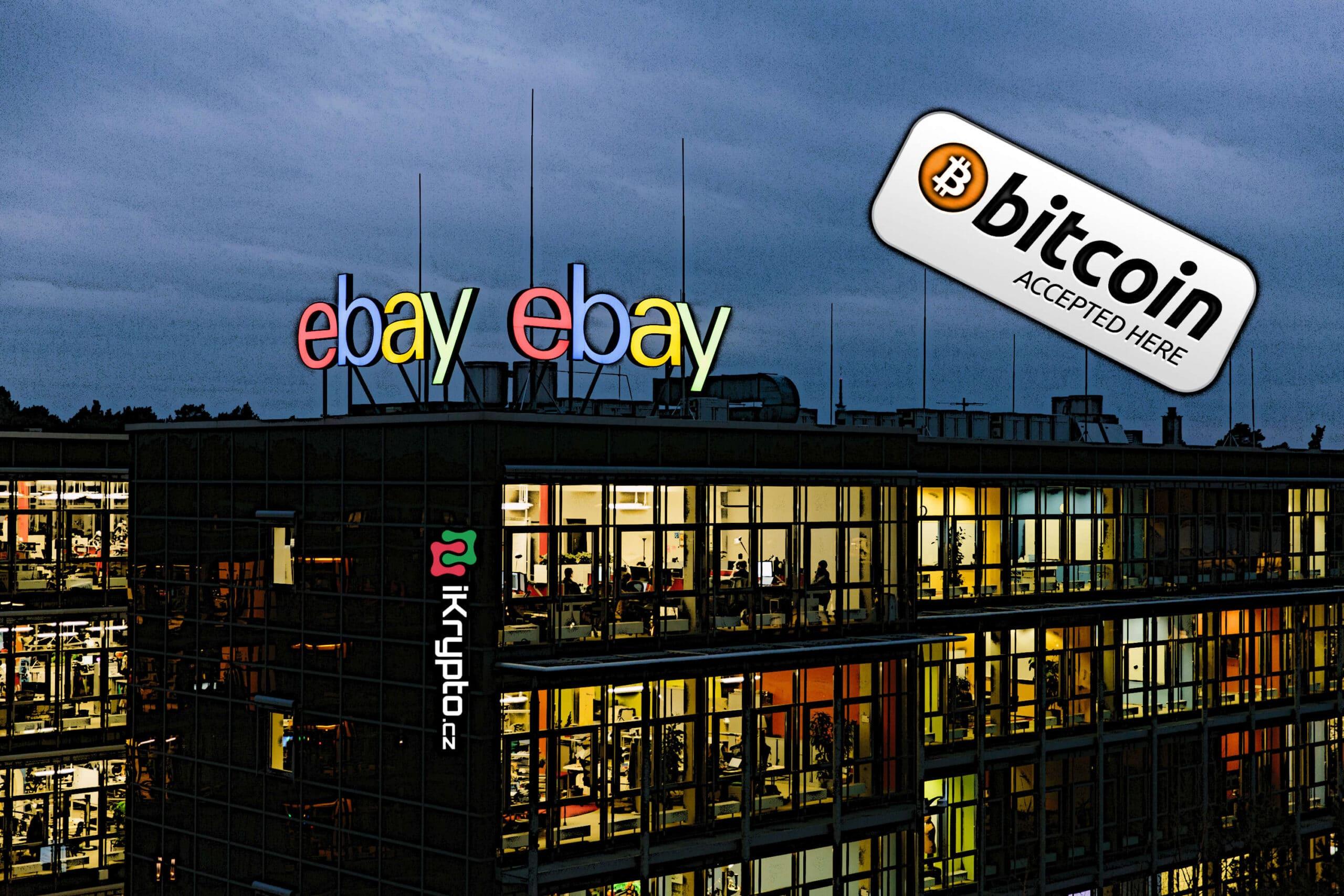 ebay zacit prijimat kryptomeny