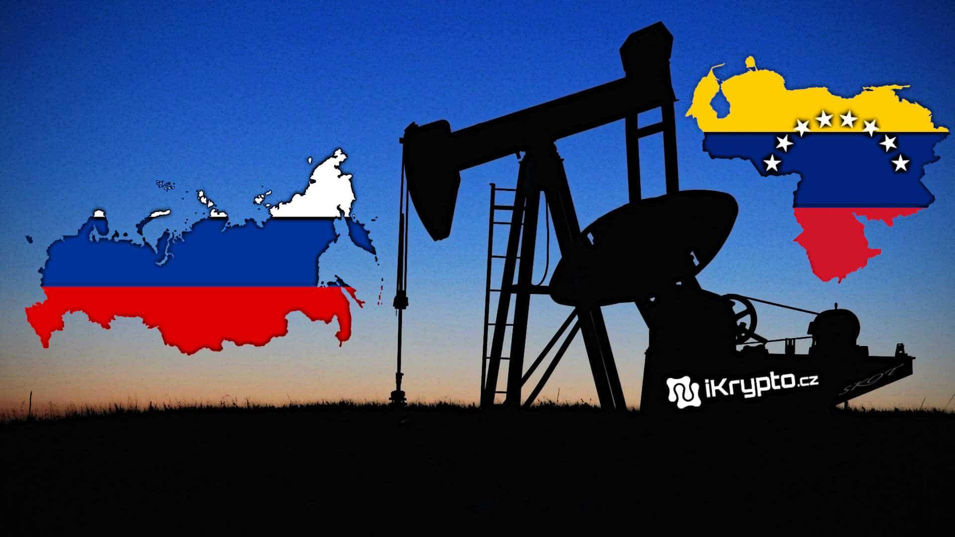 venzuela a rusko planuji vyuzit kryptomenu petro